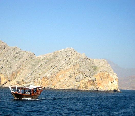 Oman Fjords: oman coastline