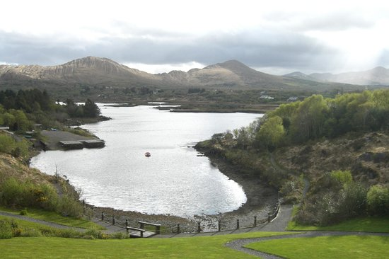 Sneem Hotel: Fabulous view from room 220