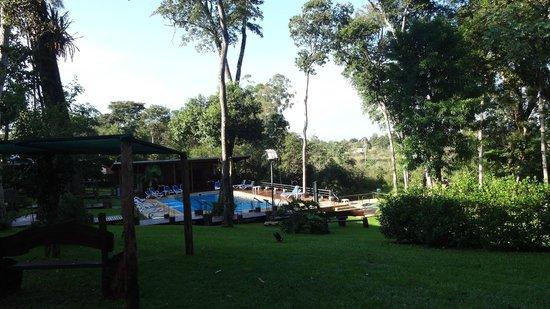 Gran Hotel Tourbillon: Vista da Piscina