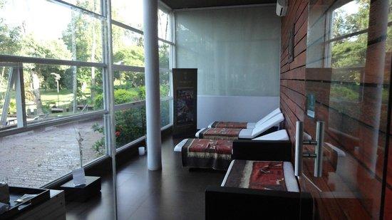 Gran Hotel Tourbillon: Area de descanso do SPA