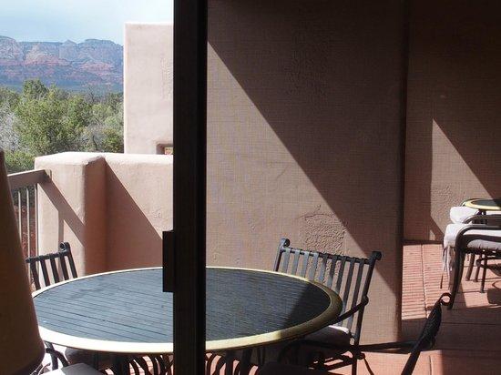Sedona Summit Resort: Balcony
