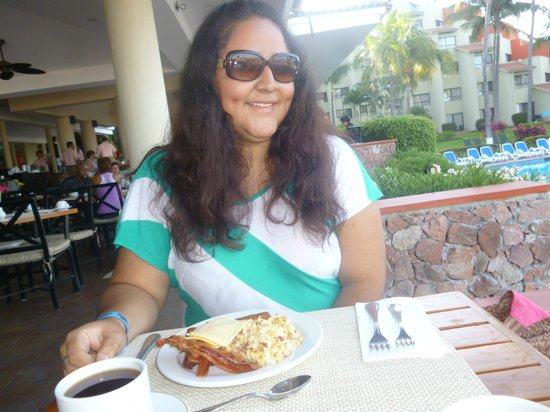 Occidental Grand Nuevo Vallarta: la comida era rikisima