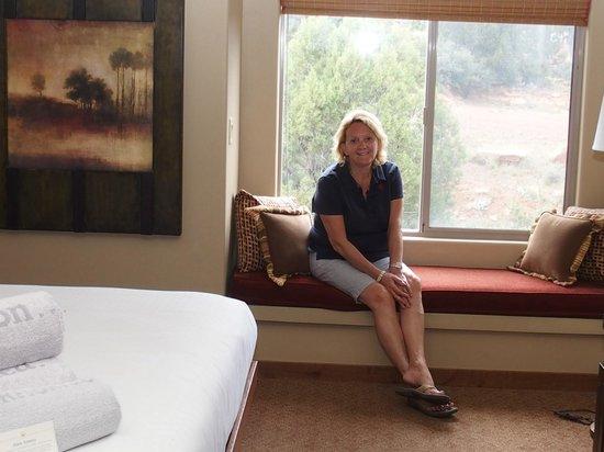 Sedona Summit Resort: Main bedroom
