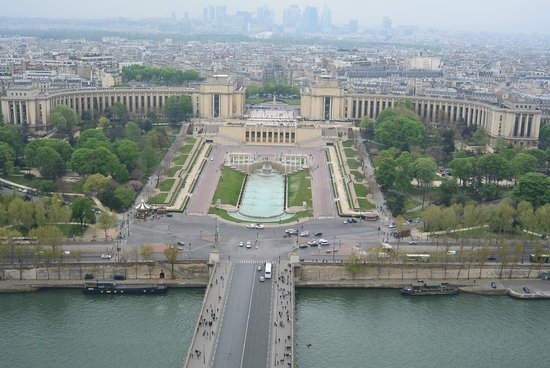 Palais de Chaillot: view from the tower