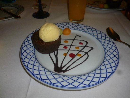 Occidental Nuevo Vallarta: postre italiano