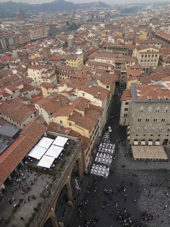 Museo Nazionale del Bargello: площадь сверху