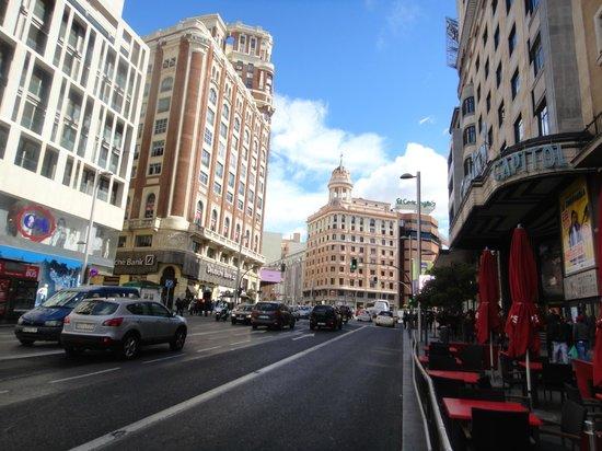 Emperador Hotel Madrid: Gran Via