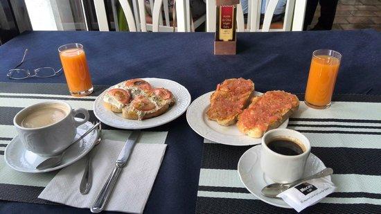 Hotel Casona Del Sella: desayuno