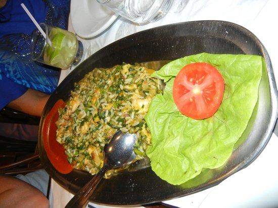Bar e Restaurante Garota de Ipanema : porção que serve 2 pessoas