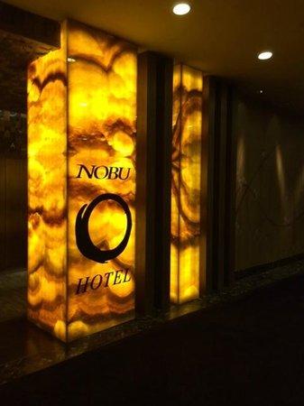 Nobu Hotel at Caesars Palace: Casino View