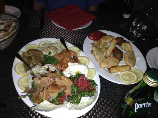 Kan Zaman : mezza platters