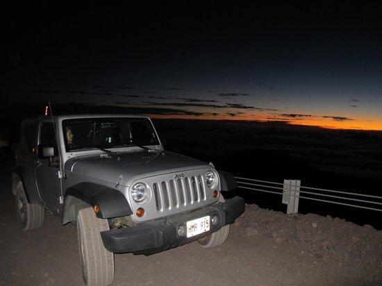 Maunakea Visitor Information Station : nascer do sol