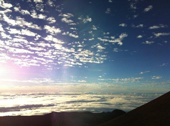 Maunakea Visitor Information Station : nuvens