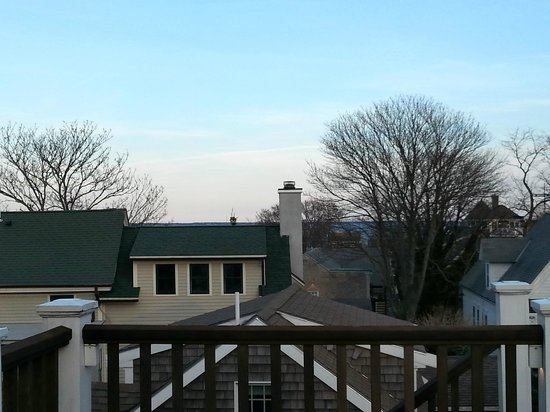 Revere Guest House: View from deck outside room