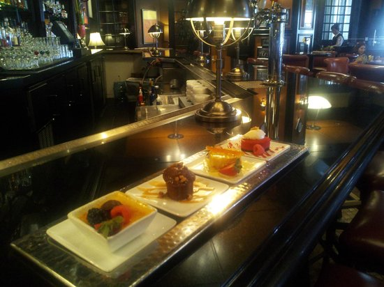The Ritz-Carlton, Atlanta: Dessert in the Atlanta Grill Restaurant!