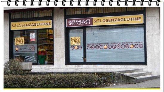 Concorezzo, Itália: Negozio Solo Senza Glutine Corsico