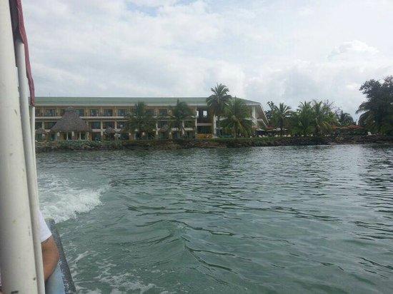 Playa Tortuga Hotel & Beach Resort: Hotel visto do mar