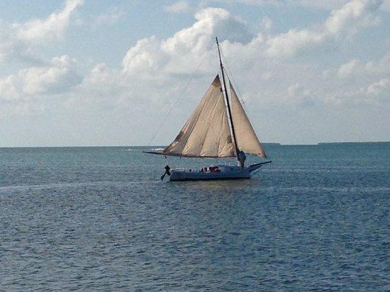 Sunset sailing at Casa Morada