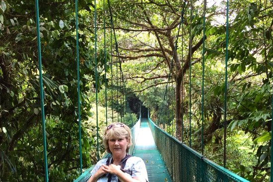 Parque Selvatura: Me on one of the bridges