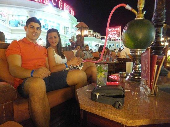 Sharming Inn Hotel : Na'ama Bay shishabar - Fairuz Shisha Bar