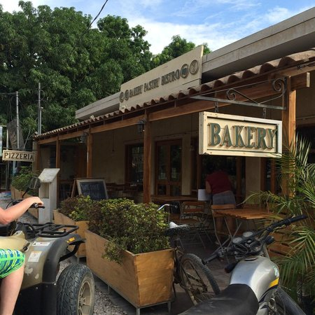 The Bakery: Located right off the main street in Playa Carmen.