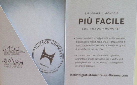 Hilton Giardini Naxos : Key paper