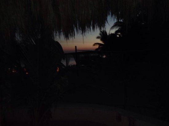 El Dorado Sensimar Riviera Maya: Night view from main beach bar