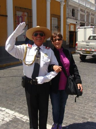 Casa Andina Premium Arequipa: Friendly Officer