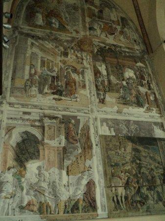 Chiesa degli Eremitani: affresco