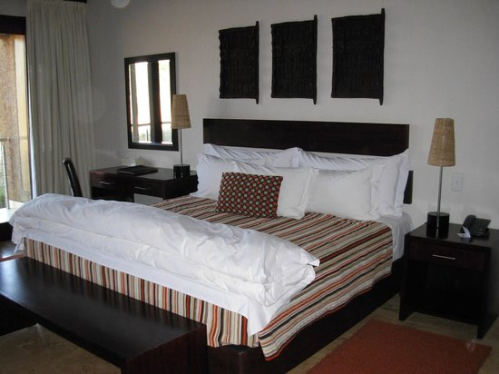 Kapama River Lodge: Cama enorme