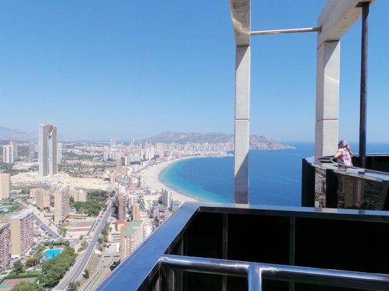 Presidente Hotel: view from hotel bali  44 floor