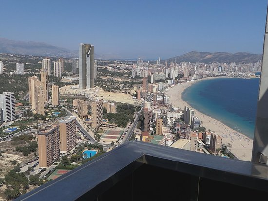 Presidente Hotel: view of the biggest and new hotel from 44 floor