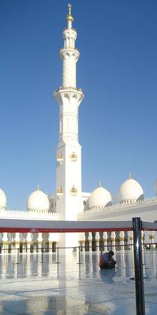 Mezquita Sheikh Zayed: Plaza & Minaret