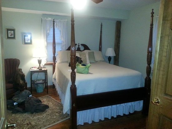 The Inn at Grist Iron: Bedroom