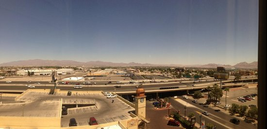 Main Street Station Hotel & Casino: The view from our room