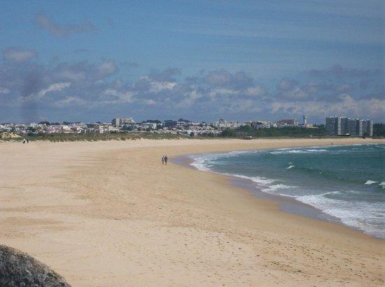 Pestana Dom Joao II: The beach on the wayback o hotel