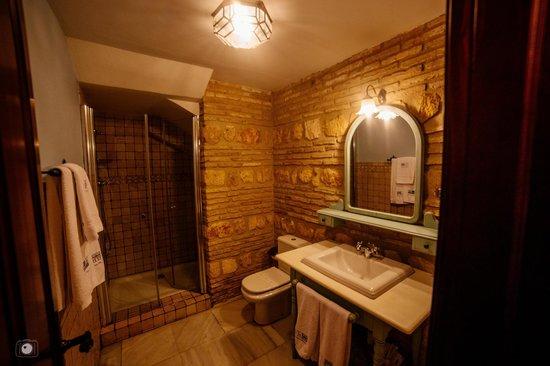 Hacienda Posada de Vallina: Baño (Ducha)
