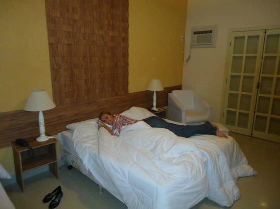 Hotel Fazenda Montanhes: Quarto da suíte