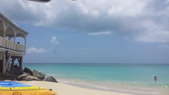 Grand Case Beach Club: beach again