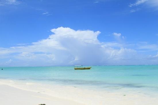 Zanzibar White Sand Luxury Villas & Spa: view, walking on the beach near the hotel.
