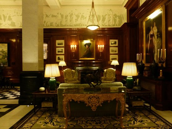 The Savoy: lobby