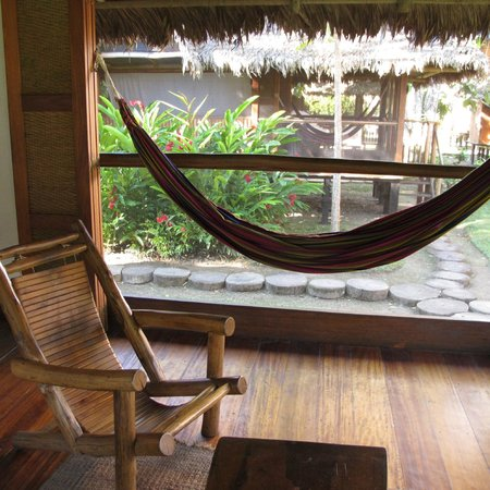 Inkaterra Reserva Amazonica: hammock in the cabana