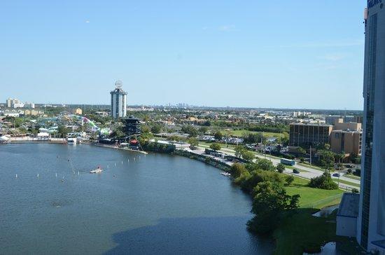 Westgate Palace Resort: vista para o lago
