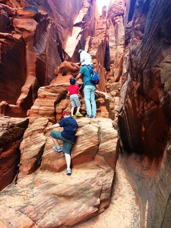 Dreamland Safari Tours: Indian Jones hike for the kids