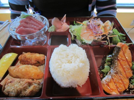 Rock Japanese Cuisine: one of our bento boxes