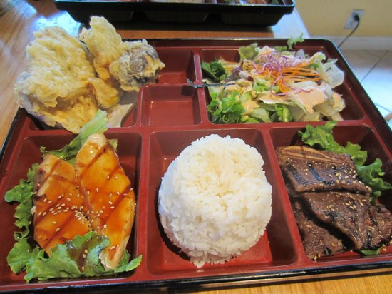 Rock Japanese Cuisine: the other bento box