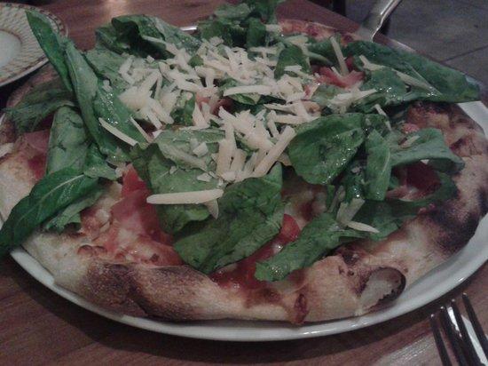 Malandrino - pizza de rúcula