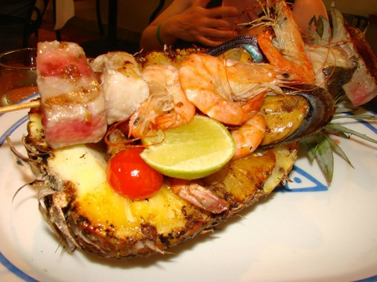 Fiesta Americana Condesa Cancun All Inclusive : Repas spécial au Kalmia