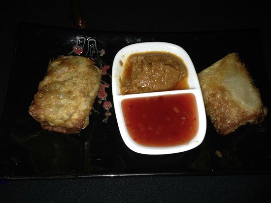 Lafayette Inn and Restaurant : Southern Egg Rolls