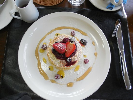 The Dairy Private Hotel: The fluffiest pancakes ever
